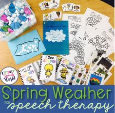 Spring Weather (Plus Freebies!)