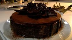 Chocoladetaart met pepermunt zonder zuivel of eieren | VTM Koken