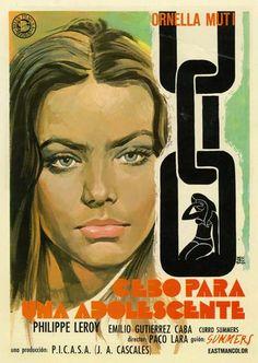 """Cebo Para Una Adolescente aka """"La Segretaria"""" (1974) (Spain)"""