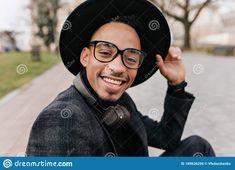 Beard Boy, Outdoor Portraits, Brown Skin, Young Man, Close Up, African, Fresh, Glasses, Eyewear