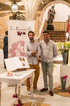 """Stand de """"La Buganvilla"""" (florista), en #WeddingSevilla. Fotos cedidas por Gerardo Morillo."""