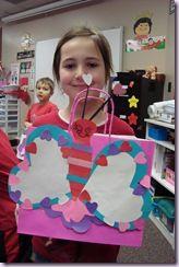 Kids Valentine Card Holder  Lesson Plans  CraftGossipcom