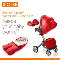 The Ultimate Snowsuit for your Stokke stroller.