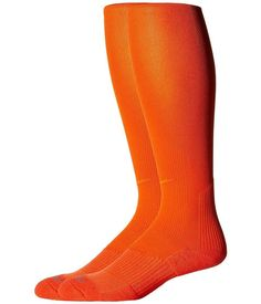 Nike - 2 Pair Pack Baseball Sock (Team Orange/Team Orange) Crew Cut Socks Shoes - Brought to you by Avarsha.com