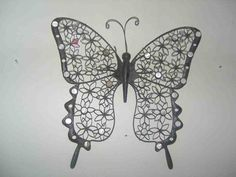 Wall Decor and Home Accents - Decor Ideas 3d Butterfly Wall Decor, Diy Butterfly, Butterfly Shape, Butterfly Wall Stickers, Locker Decorations, Wall Decor Design, Flower Holder, Nursery Wall Decor, Hanging Ornaments