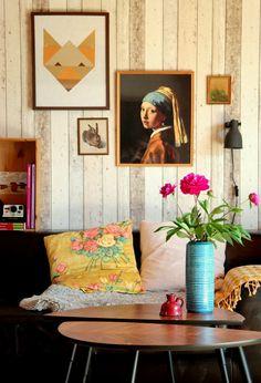 Der Fuchs und das Mädchen... Die schönsten Poster in echten Wohnungen  #poster #interior #deko #decor #inneneinrichtung #dekorationsideen #bunt #art #geometric #orange  Foto: Manntje