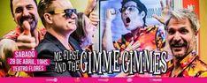 Me First and the Gimme Gimmes por primera vez en Argentina