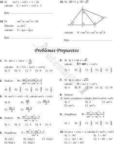 10 Ideas De Identidades Trigonométricas Identidades Trigonometricas Trigonometria Razones Trigonometricas