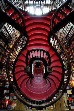 The Lello bookstore in Porto, Portugal