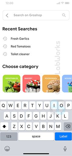 Grocery Ordering Android App Template   Ecommerce iOS App Template (HTML   CSS) (IONIC 5)  Groshop by opuslabworks #Ad #App, #SPONSORED, #Template, #Android, #Grocery Ad App, App Ui, Grocery Delivery App, Ecommerce App, Splash Screen, Html Css, Logo Design Inspiration, Grocery Store, Android Apps