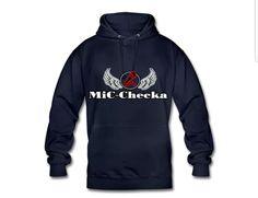 €31,99 order NOW! Mic Checka Blue hoody. Match it with a Mic Checka snapback or trucker cap.
