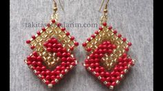 Cubic Right Angle Weave earring tutorial