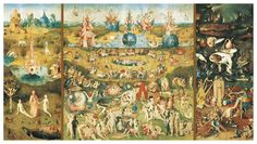 EDUCA: 9000 THE GARDEN OF EARTHLY DELIGHTS 214X118.5 cm