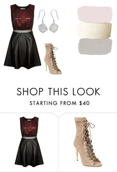 """""""Untitled #13137"""" by jayda365 ❤ liked on Polyvore featuring Parisian, Balmain and NOVICA"""