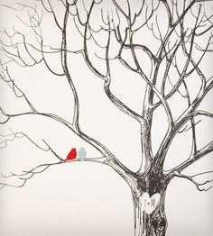 Custom Wedding Tree Print | Gifts DO NOT USE - Wedding | Print Smitten | Scoutmob Shoppe | Product Detail
