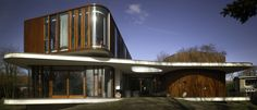 Mecanoo Architects designed the Villa Nefkens in Wageningen, The Netherlands.