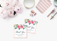 Printable Bridal Shower Gift Tags / Customized Favor Tags, Thank You Tags - Marlow Monogram Bridal Shower Gifts, Bridal Shower Invitations, Favor Tags, Gift Tags, Custom Return Address Stamp, Thank You Tags, Papers Co, Craft Stores, Color Change