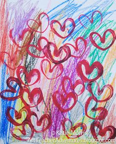 valentine art lessons for elementary students