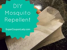 DIY Mosquito Repellent! EASY ways to keep those pesky creatures away! http://www.supercouponlady.com/2013/06/diy-mosquito-repellent.html/