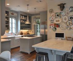 Cabinets: Ben Moore Fieldstone Gray