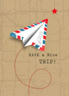 Iemand een fijne reis wensen? Stuur een kaart uit de reizen collectie van Hallmark Cards. #hallmark #kaart