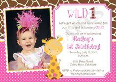Hey, I found this really awesome Etsy listing at http://www.etsy.com/listing/104830234/girl-giraffe-birthday-invitation-diy