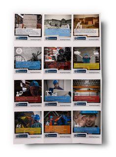 ThyssenKrupp Ferroglobus - mikrografikák Infographics, Baseball Cards, Storage, Decor, Purse Storage, Decoration, Infographic, Larger, Decorating