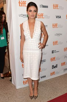 Mila Kunis at the Third Person Premiere During TIFF