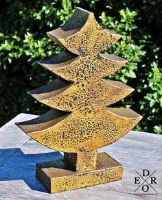 """ekorativer Weihnachstbaum """"Edeltanne"""". Vintage, Paint Metal, Xmas Tree, Xmas, Deko, Primitive"""