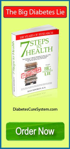 The Big Diabetes lie order now