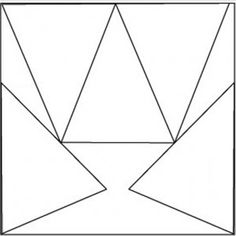 Template to get the most pennants out of a 12x12 piece of scrapbooking paper