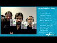 CrowdSight SDK - Crowd Face Analysis Software | Sightcorp Crowd, Software, Tech, Technology