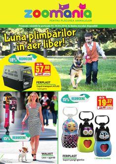 Catalog Zoomania Luna Plimbarilor in aer liber Aprilie 2018 Lei, 30th, Transportation, Catalog, Zootopia, Brochures
