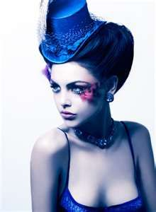 Love this look down to the pill box hat