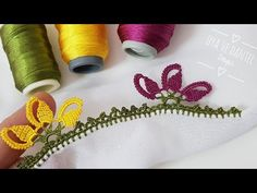 Crochet Flower Tutorial, Crochet Flowers, Diy And Crafts, Iftar, Art, Crochet Edgings, Simple Embroidery, Art Background, Crocheted Flowers