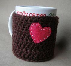 crochet teacher | crochet mug sweater « crochetedcouture.com & micheleproducts.ETSY.com