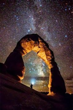 Starlight and being alone: two of my most favorite things in one photo.