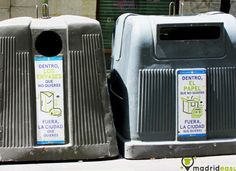 We love our planet! Learn a little bit about how recycling works here in Spain!