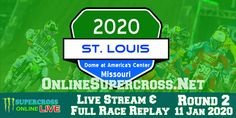 The Indianapolis Supercross 2020 will take place at Lucas Oil Stadium, Indianapolis, Indiana on 14 March Monster Energy Supercross, Lucas Oil Stadium, Stream Online, The Championship, Replay, St Louis, Racing, Live, Auto Racing