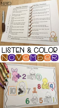 Students LOVE weekly listening skills practice with this FUN and INTERACTIVE activity! No prep and great data to share with parents at conference time! First Grade Classroom, Primary Classroom, Classroom Ideas, First Grade Activities, Interactive Activities, Active Listening, Listening Skills, Second Grade Centers, Following Directions Activities