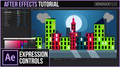 After Effects Tutorial: Expression Controls Across COMPS (Color & Parame...