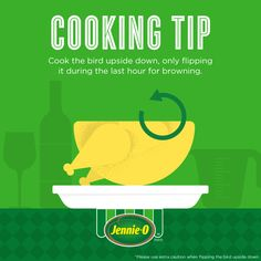 Thanksgiving How To | How to Cook Turkey | Cooking Tips Infographic | #turkey #cooking #Thanksgiving #JennieO #howto http://www.jennieo.com/