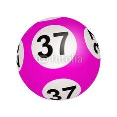 Tirage loto, boule numéro 37 de Regormark, Photo libre de droits #42221785 sur Fotolia.com