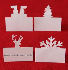 Bonjour les lucioles, dernière ligne droite avant le jour J. J'ai donc préparé les marques place pour ma table de fête, merci la ScanNcut. Bisous Tweet Share 0 Pinterest 0 Email Christmas Table Deco, Christmas Place Cards, Christmas Names, Deco Table Noel, Christmas Wrapping, Christmas Diy, Christmas Decorations, Xmas, Snowman Poop