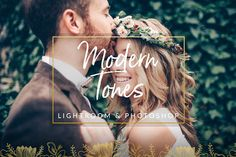 **Modern Tones Wedding Preset for Lightroom & Photoshop** Our approach to wedding photography is Fine Art Wedding Photography: Fine art wedding photography isnt just a catchy phrase; its a modern approach in which design is paramount. Fine art wedding images are more graphic and