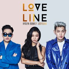 Hyolyn (SISTAR), Bumkey, JooYoung – Love Line (2015.12.18)