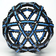 Icosidodecahedron (Dead Homer) Tags: ball lego sphere math polyhedron