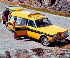Volvo Personbilar Sverige Skolstart anno 1967.