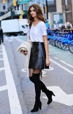 Taylor Marie Hill leaving Victoria's Secret headquarters in New York City on November 4, 2015.
