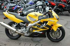 2006 Honda CBR600F4I Sportbike , Yellow, 3,029 miles for sale in Kissimmee, FL